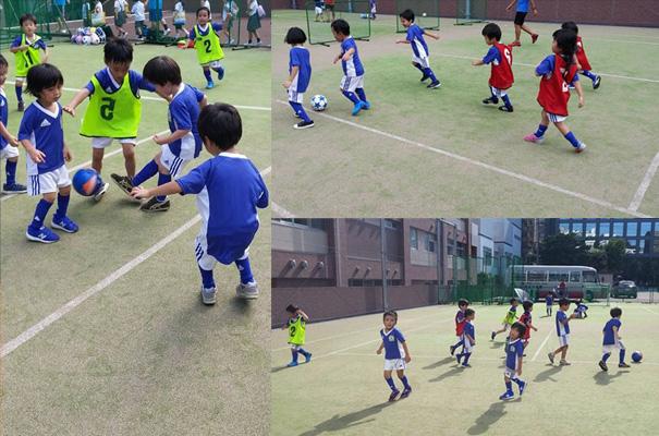 世田谷区のサッカーチーム・サッカークラブ「プロメテウス」の日出幼稚園サッカースクール